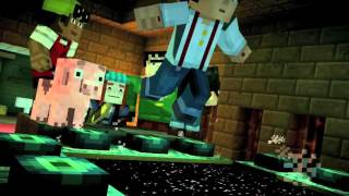 Minecraft Story Mode: Episode 3: The Last Place You Look trailer