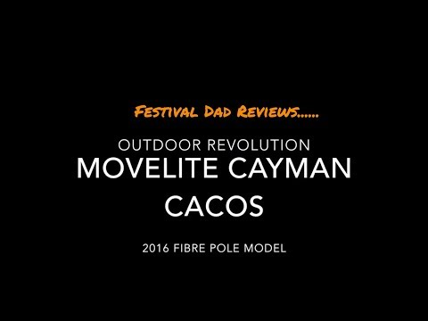 Outdoor Revolution Movelite Cayman Cacos - Review by Festival Dad