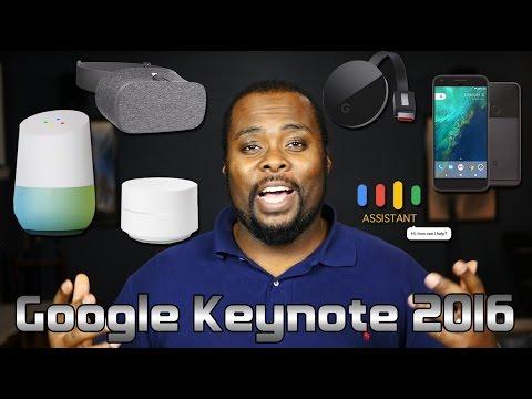 #madebygoogle Event 2016 Recap - 5 New Google Devices - Keynote