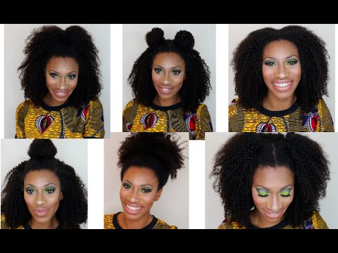 Detailed 3 Part Vixen Flip Method Sew In Ft Our Crowns 4c Curly Girl Extensions Youtube