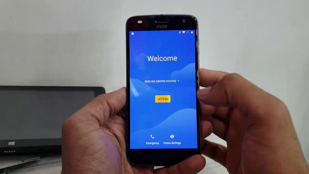 Bypass Google FRP lock Google Account on Motorola devices android Oreo 8