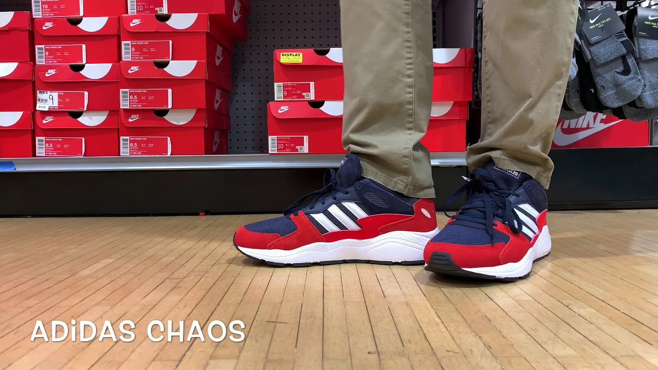 The Adidas Chaos is LOCO 😜 - YouTube