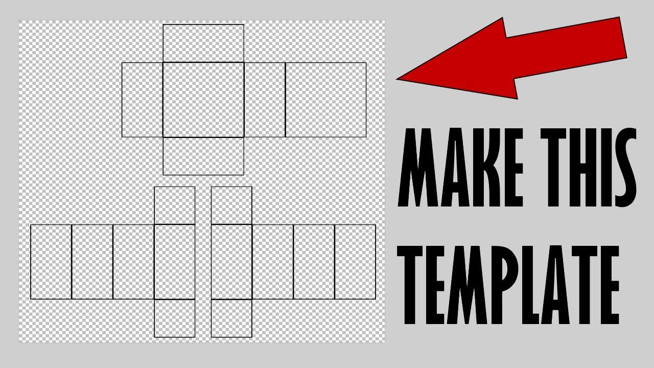 how to make a basic black clothing template