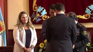 Acto oficial conmemorativo del patrón de la policía nacional - Los Realejos