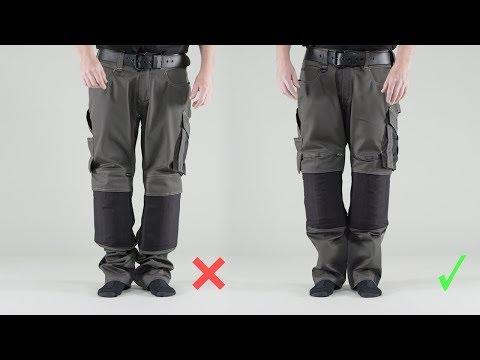 f37e90aa929 Arbejdsbukser - slidstærke MASCOT bukser med stretch