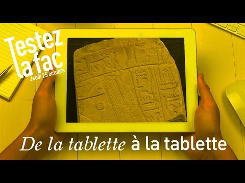 De la tablette à la tablette, petite histoire de l'écrit et de l'image (Antiquité à l'ère numérique)