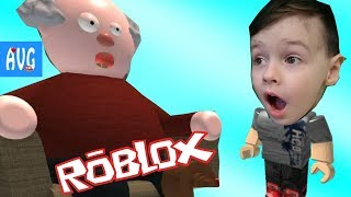 Vacation at GRANDPA home in ROBLOX Grandpa prevents walking adventures cartoon hero from AVG