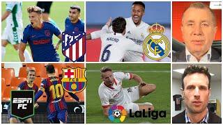 LA LIGA Atlético de Madrid, Real Madrid y Barcelona VAN por el título. Sevilla se quedó | ESPN FC