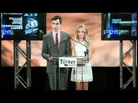 2012 Tony Award Nominations Announcement