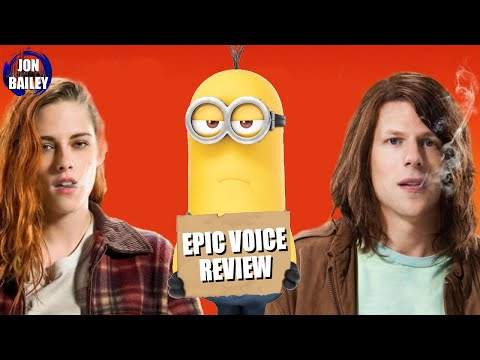 AMERICAN ULTRA, MINIONS & ALOHA (Epic Voice Review)
