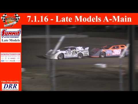 7.1.16 Attica Raceway Park Late Models A-Main