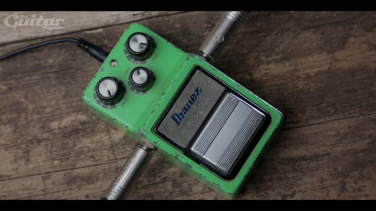 Maxon OD808 & OD-9 vs Ibanez TS-9 Tube Screamer Shootout