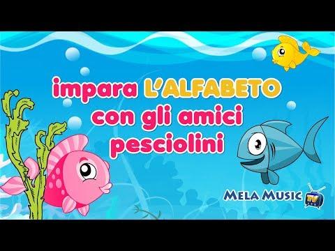 Impara l'alfabeto con gli amici pesciolini - Canzoni per bambini di Mela Music