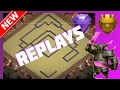Replays Of The Stronghold | New BEST Th11 Trophy/War Base | Anti-Bowler, Valk, Drag