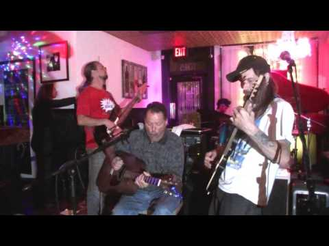 John, Kris, Russ, Stefan, and K Cee Crossroads The Pink Piano 6 14 16
