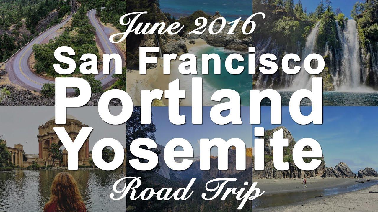 USA West Coast Roadtrip Intro San Francisco