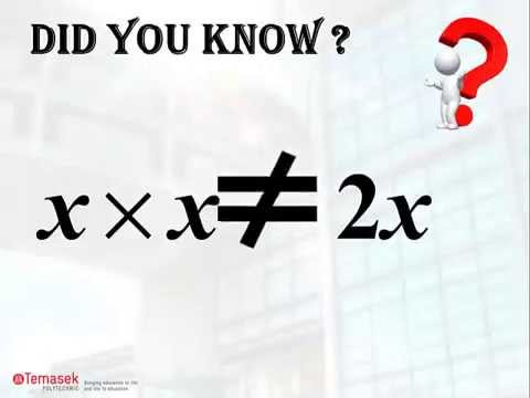 Mathematics Misconception #5 (Product of algebraic expressions)