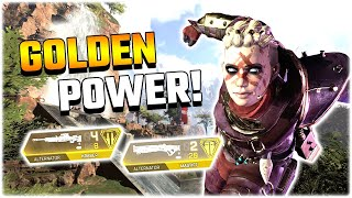 These GOLD Weapons are SO STRONG.. (Apex Legends PS4)