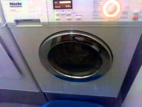 Power Washing Machine >> Miele PW 5065 start mainwash! - YouTube