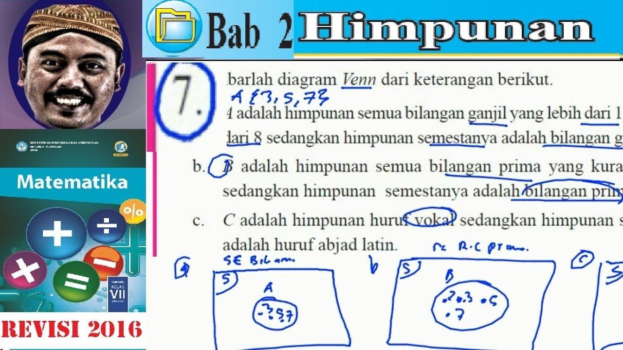 Himpunan matematika kelas 7 bse kurikulum 2013 revisi 2016 lat 23 himpunan matematika kelas 7 bse kurikulum 2013 revisi 2016 lat 23 no 7 diagram venn ccuart Gallery