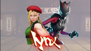 Street Fighter V PC AE mods - Cammy as LYNX (Fortnite) by THEJAMK