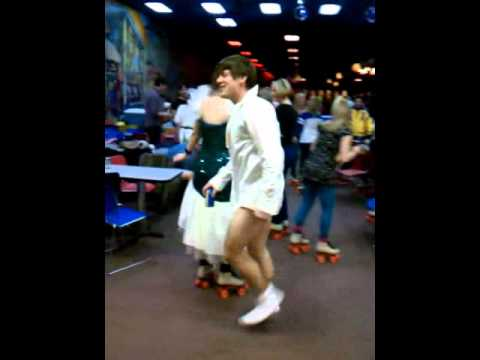 tom cruise risky business dance 80s skate party
