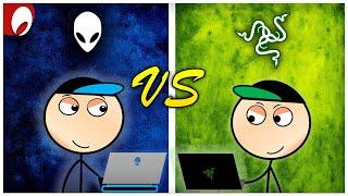 Alienware Gamers vs Razer Gamers