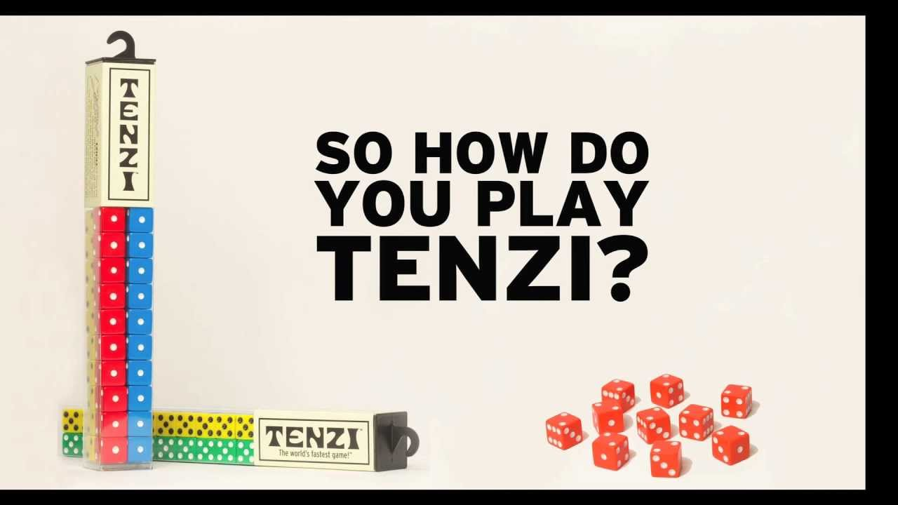 picture regarding 77 Ways to Play Tenzi Printable titled TENZI - How Towards Enjoy