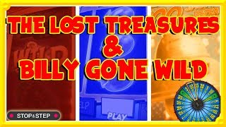 The Lost Treasures & Billy Gone Wild NEW Slots