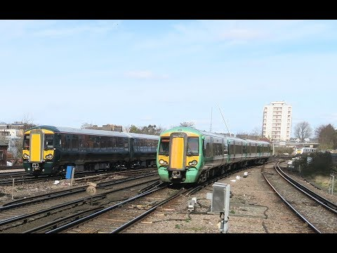 BEDFORD TO EAST CROYDON TRAVELOUGE + GWR MOVE.  14 03 2018