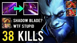 WTF MID Shadow Blade Riki And They Think He's Noob! Next Level Counter By Pro Kinguin.Lisash Dota 2