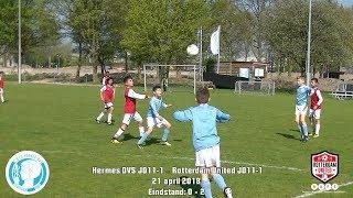 Samenvatting Hermes DVS JO11-1 - Rotterdam United JO11-1