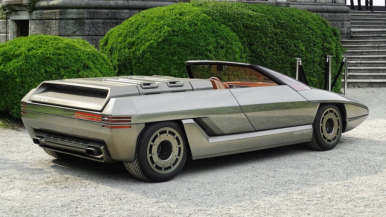 Lamborghini Athon By Bertone Start Up Amp Driving Lamborghini V8 Engine Sound Youtube