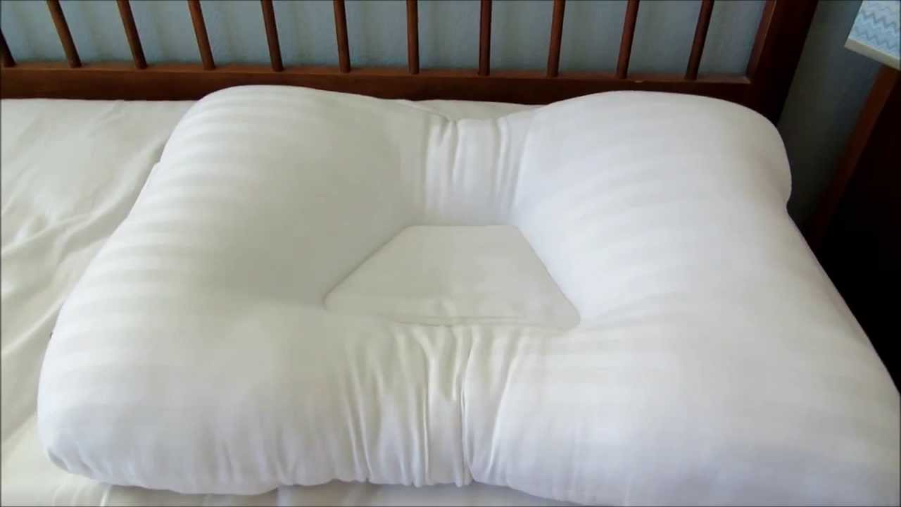 applecore tricore fib200 pillow product review for shoulder and neck pain youtube