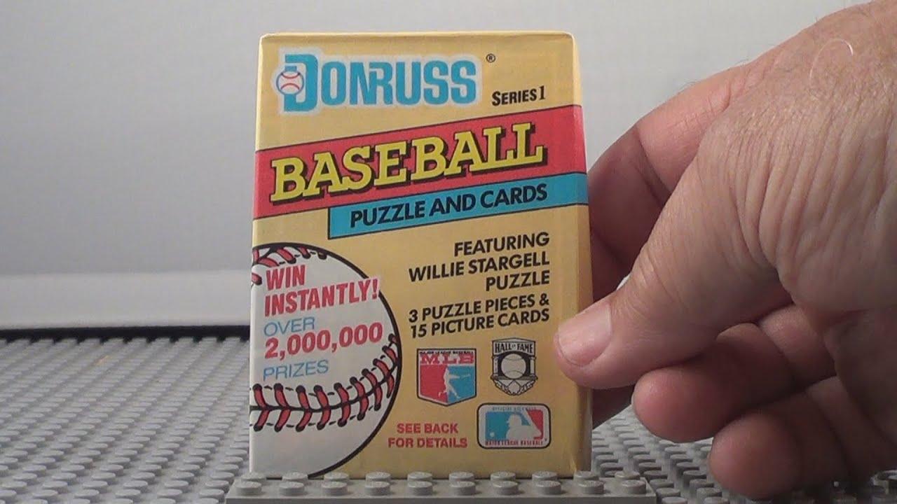 1991 Donruss Baseball Trading Cards 3 Packs Opening Jeff Bagwell Chipper Jones Rookie