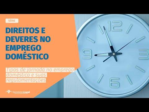 Jornada de trabalho no emprego doméstico l WEB SÉRIE l Direitos e deveres no emprego doméstico
