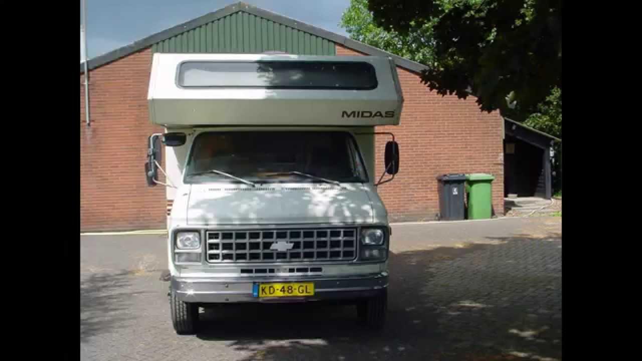Favoriete Amerikaanse Oldtimer Camper GMC Chevrolet- Verkocht - YouTube #FZ86