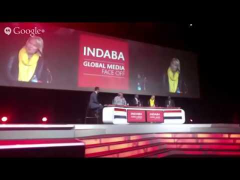 #INDABA2014 Global Media Face Off