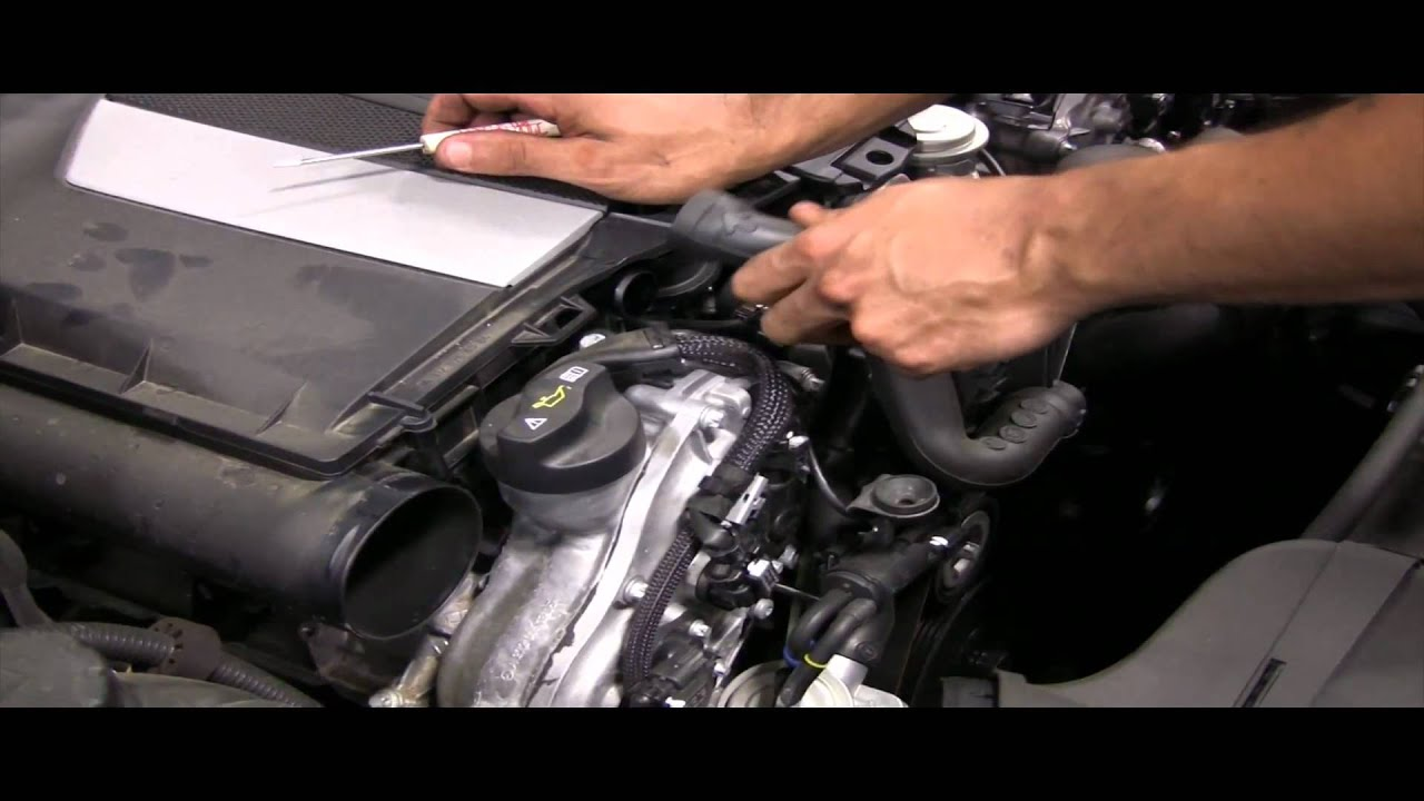 Benzwerks Mercedes Benz Engine Filters Removal Youtube Diagrams