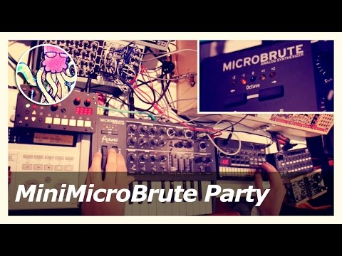 Minisizer / MicroBrute / Volca Beats / MicroGranny