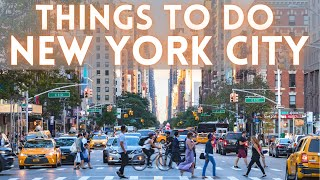 New York City Things To Do 2021 4K