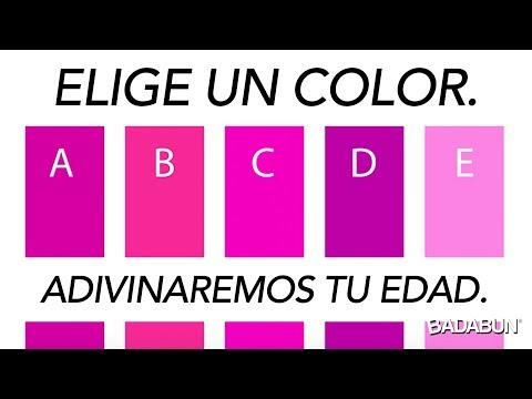 Esta prueba de colores revela tu edad mental