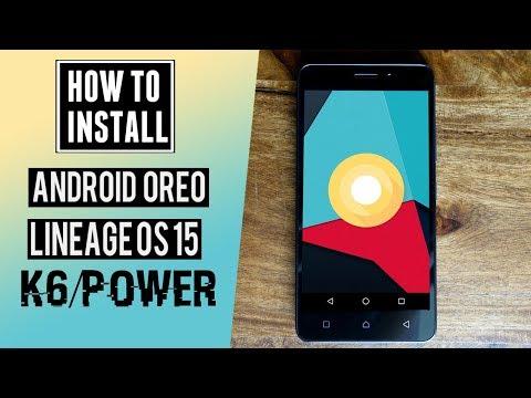 Lenovo K6/K6 Power Android 8 0 Oreo (LineageOS 15) Update