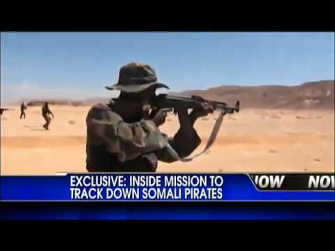 Puntland Maritime Police Force are fighting Somali pirates.flv
