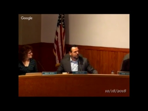 Council Rock School Board Meeting 10-18-18