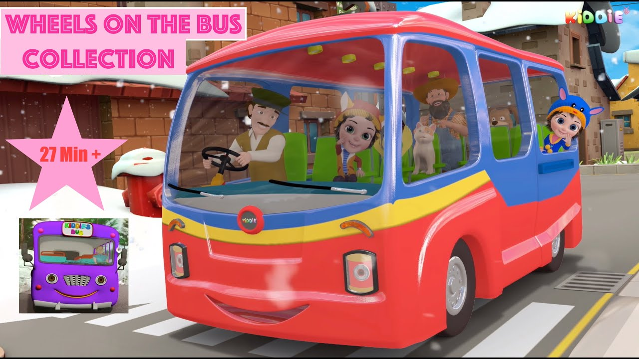 Wheels on the Bus Collection || The Wheels On the Bus || Nursery Rhymes and Kids Songs || Bus Songs