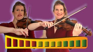 5 LEVELS of VIOLIN BOW TECHNIQUE: beginner to pro sound quality
