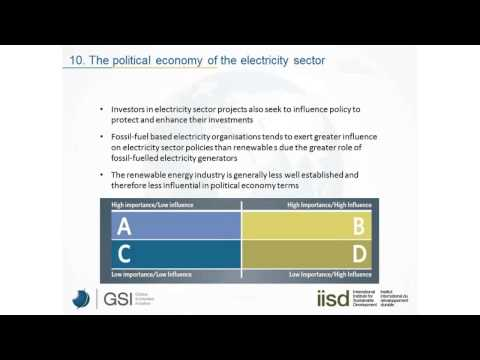 Impact of fossil fuel subsidies on renewable electricity generation (webinar)