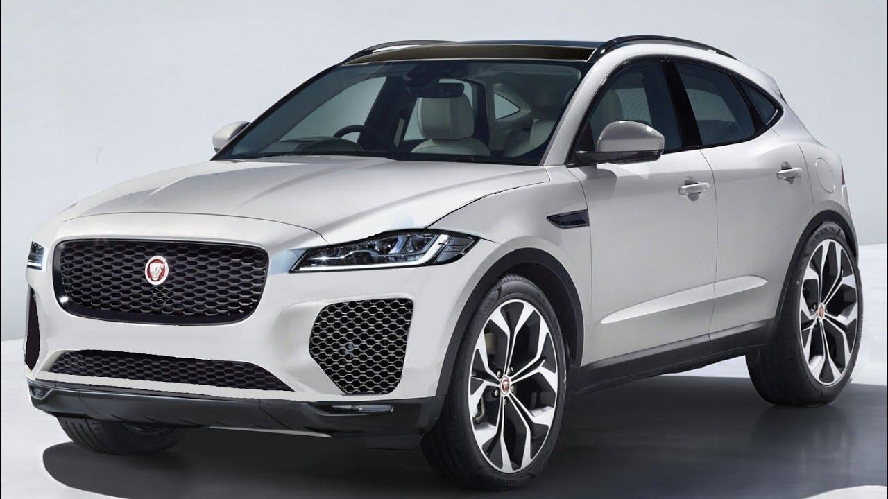 2021 Jaguar E pace facelift render making video - YouTube