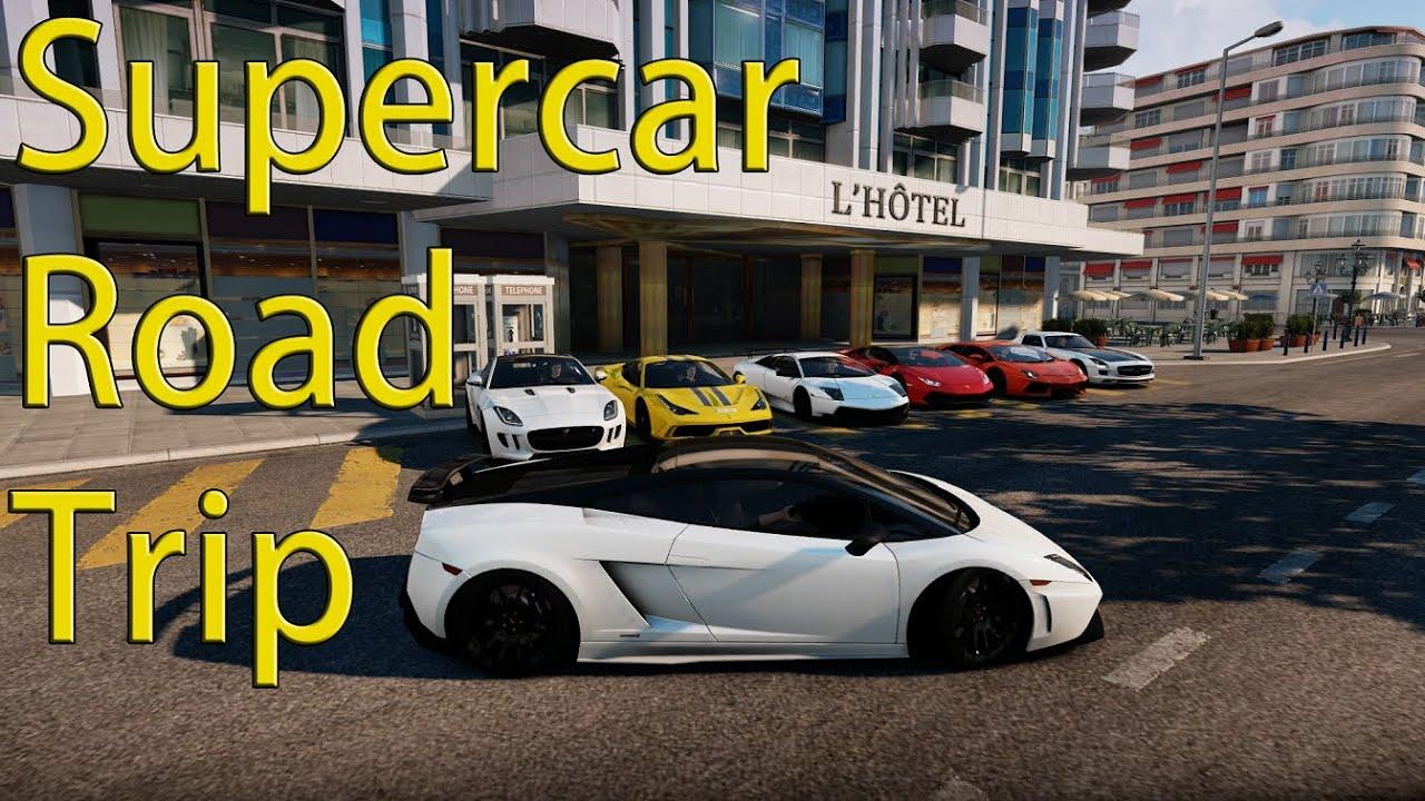 Forza Horizon Supercar Road Trip Sv Superleggera